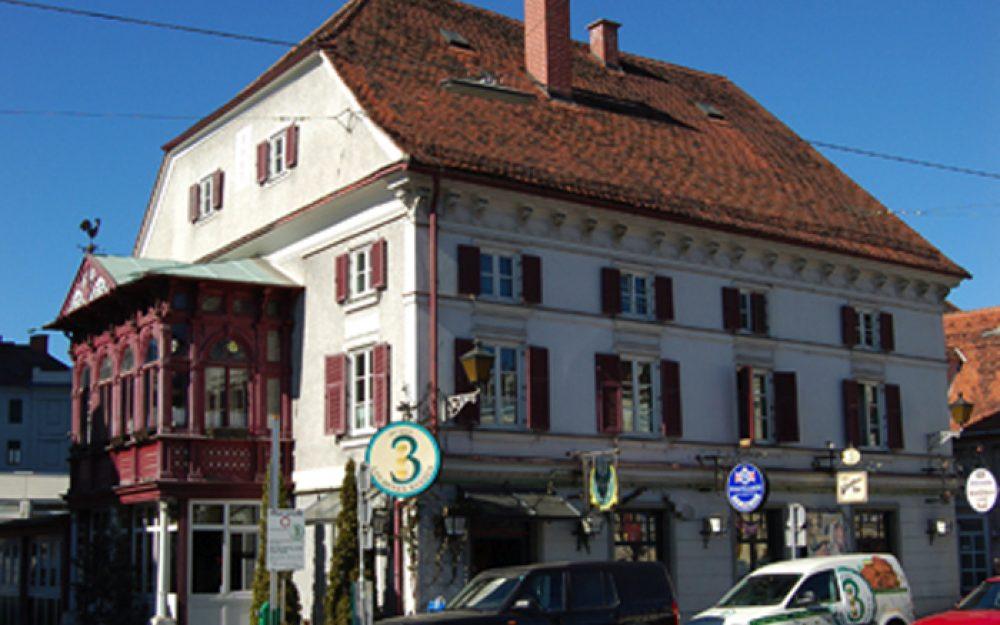 Wirtshaus der Goldenen Kugeln in Graz, Griesplatz 34